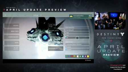 Destiny Actualizacion De Abril 16