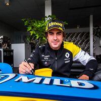 La vuelta de Fernando Alonso a la Fórmula 1 será este martes en un test de Renault en Barcelona-Catalunya
