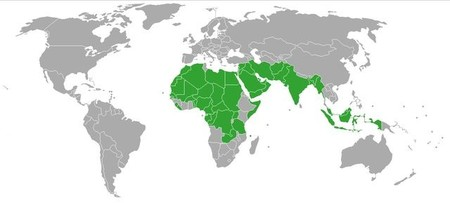 Países donde se acepta la poligamia masculina