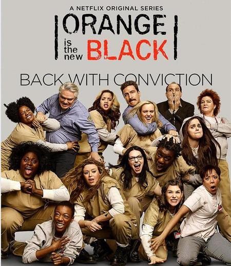 Netflix anuncia fecha de la 3ª temporada de la serie Orange is the new black