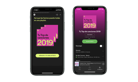 Lista Resumen Spotify 2019