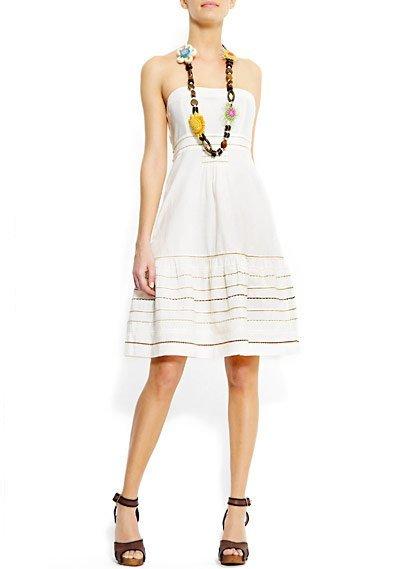 vestido blanco folk