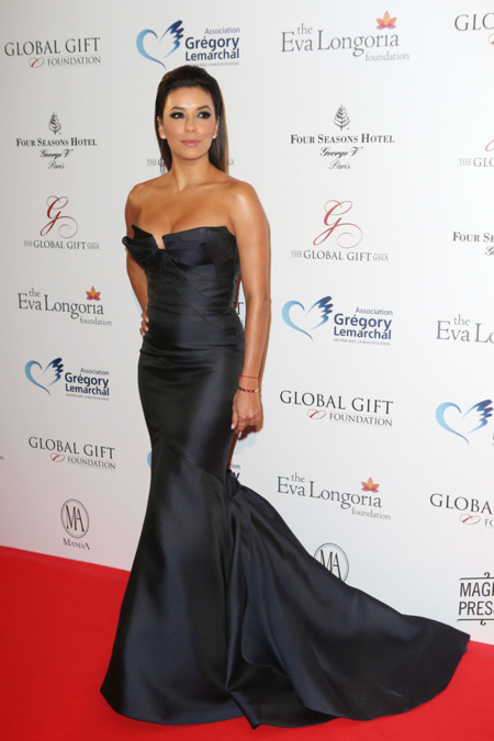 Eva Longoria look Global Gift Gala 2014