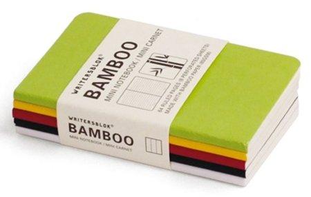 Libretas de bambú, la alternativa a Moleskine