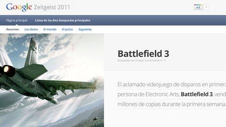 'Battlefield 3' entre lo más buscado del año en Google