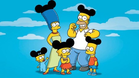 Simpsons Disney