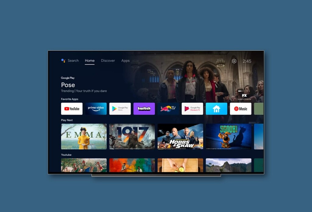 La aplicación Apple TV ya está disponible en los televisores con Android TV