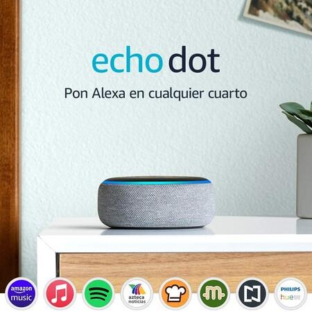 Amazon Alexa, Echo Dot de tercera generación de oferta en México
