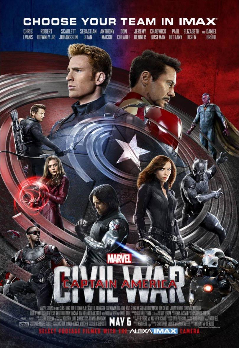 Foto de 'Capitán América: Civil War', los carteles de la película (18/22)