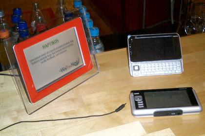Haptikos, teclados virtuales con feedback