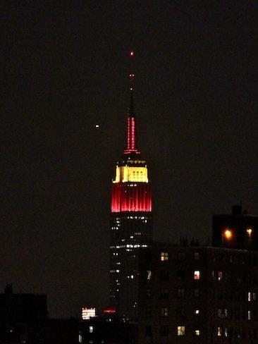 El Empire State saluda a España por su triunfo en el Mundial