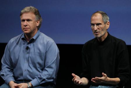 Steve Jobs Phil Schiller Apple Unveils New Qk5ea9i Waql