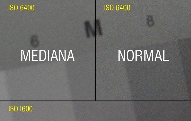 Comparativa ruido