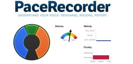 PaceRecorder, una aplicación para aprender a hablar con ritmo