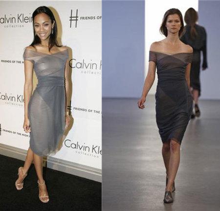 Las celebrities eligen Calvin Klein para sus fiestas