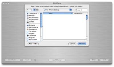 iLinkPhone, haz un backup de tu iPhone rápidamente