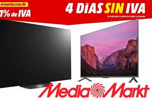 Días sin IVA en MediaMarkt: estas 19 smart TVs de Sony, Samsung, LG o Xiaomi te salen ahora mucho más baratas