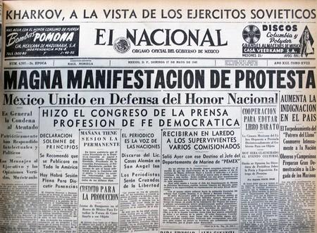 Segunda Guerra Mundial Mexico