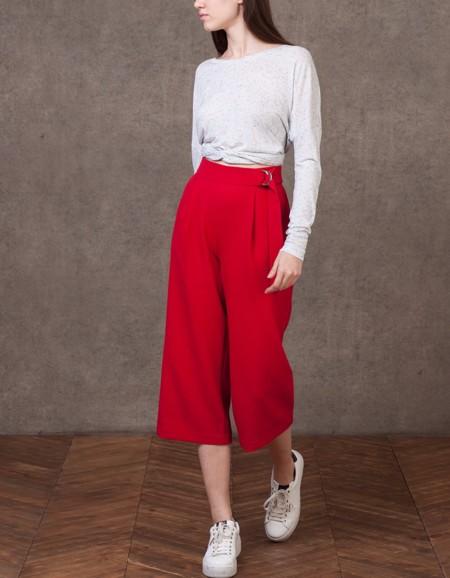 Pantalones Rojos Stradivarius