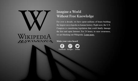 Wikipedia protest