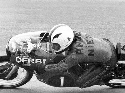 Ángel Nieto, un loco de la velocidad que también se atrevió con el Tourist Trophy en 1968