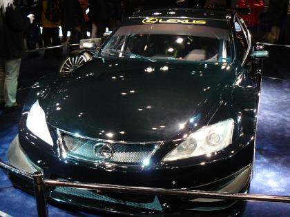 Ahora sí: primeras fotos del Lexus IS-F Racing Concept