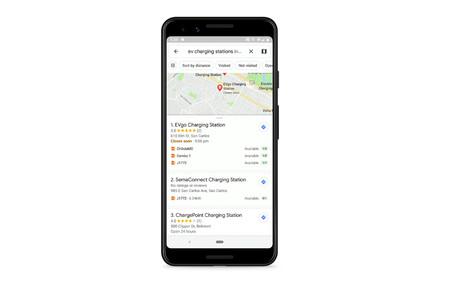 Google Maps Ev