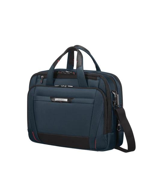 """Portadocumentos de hombre Samsonite Pro-Dlx 5 Lapt.Bailhandle para portátil 15.6"""" color azul índigo"""