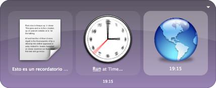 Programar alarmas con QuickSilver