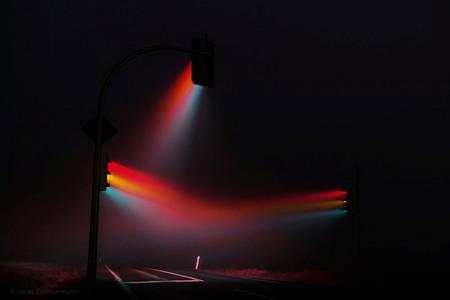 'Traffic Lights 2.0', de Lucas Zimmermann, jugando con la larga exposición y la luz de los semáforos