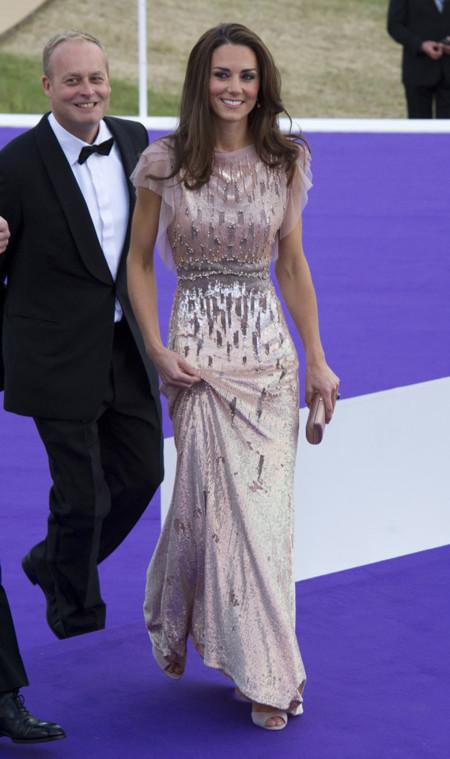 Lentejuelas Kate Middleton Jenny Packham