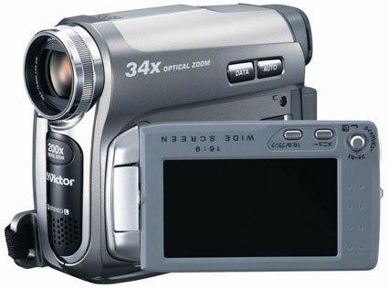 Videocamara JVC con zoom 34x óptico