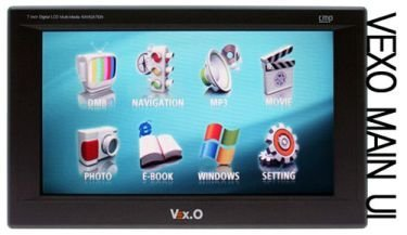 VEX.O CMP-J70, navegador GPS y algo más