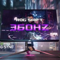 ASUS ROG Swift 360 Hz, el nuevo monitor gaming al que los 240 Hz le saben a poco