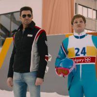'Eddie the Eagle', tráiler de la película deportiva con Hugh Jackman y Taron Egerton