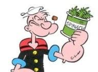 La estrategia de Popeye: espinaca para ser más fuerte