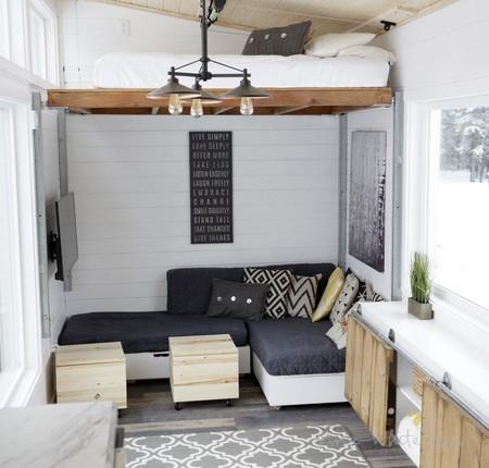 Soluciones ingeniosas para sobrevivir en una mini casa