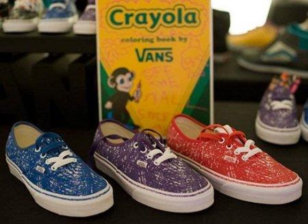 Zapatillas Crayola Vans