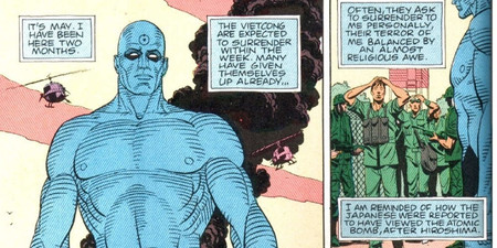 Dr Manhattan Winning Vietnam War In Watchmen