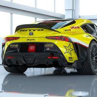 El Toyota GR Supra de Papadakis Racing es una bestia drift con 1.048 CV para bailar sobre el asfalto