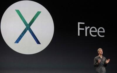 Las futuras actualizaciones de OS X también serán gratuitas