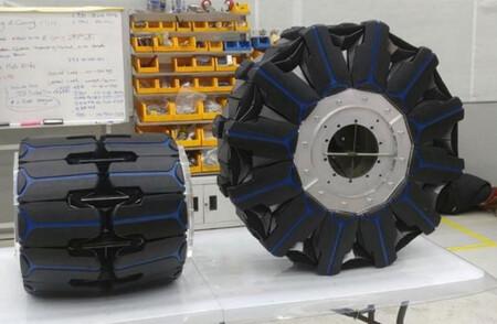 """Una rueda """"transformer"""" inspirada en el origami: un loco proyecto de Hankook con posible aplicación para futuros rovers"""