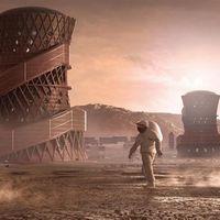 Las futuras viviendas para colonizar Marte podrían ser como las de este vídeo del '3D-Printed Habitat Challenge' de la NASA
