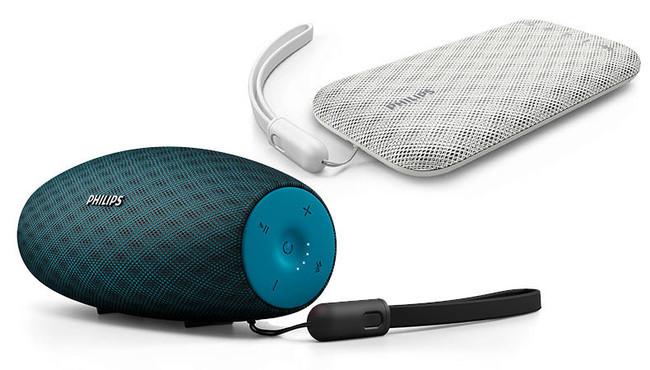 Philips presenta nuevos altavoces Bluetooth para usar en el jardín y la piscina