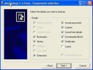 Haz un backup de Mozilla Suite, Firefox y de Thunderbird con MozBackup