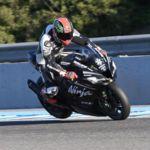 Tom Sykes y Jonathan Rea lo petan en los entrenamientos de Jerez. Más rápido que las MotoGP