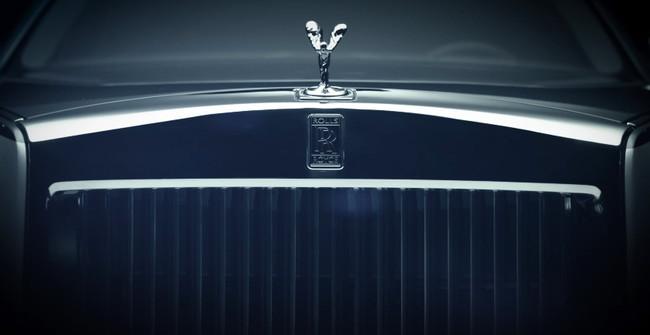 El nuevo Rolls-Royce Phantom se insinúa en su primera imagen