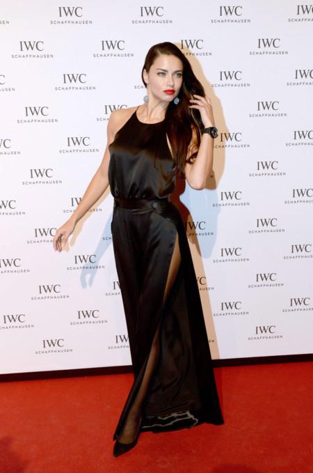 Adriana Lima Alessandra Ambrosio Iwc Gala 2016 2