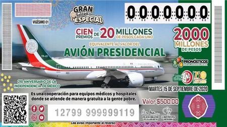 Se va a rifar el avión presidencial en Mexico, pero el premio no será el avión: esta será la dinámica