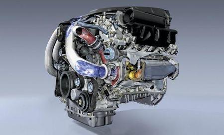 Motor Mercedes V8